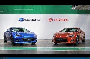 Subaru BRZ Toyota 86