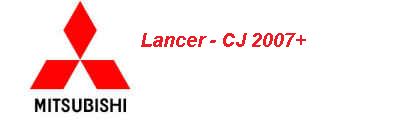 Lancer CJ 2007+