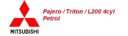 Pajero / Triton 4cyl