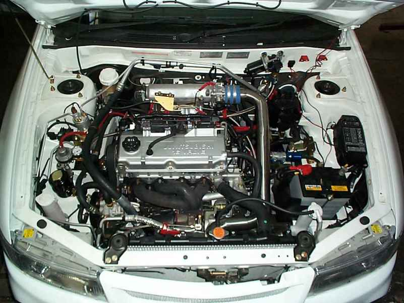 Mitsubishi Lancer CE 4G93 Turbo - Racing Performance Works Dyno Tuning Specialist